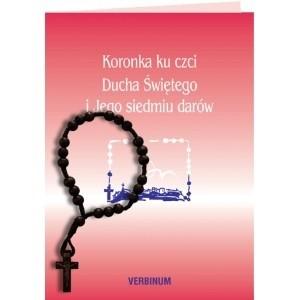 Okładka książki Koronka ku czci Ducha Świętego i Jego siedmiu darów