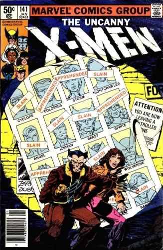 Okładka książki Uncanny X-Men Vol 1 #141