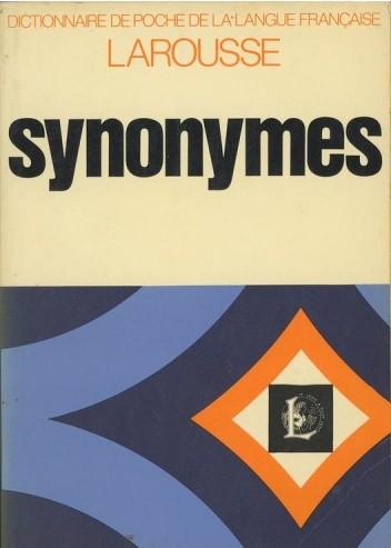 Okładka książki Synonymes. Dictionnaire de poche de la langue française.
