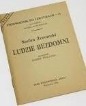 Okładka książki Stefan Żeromski. Ludzie Bezdomni