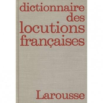 Okładka książki Dictionnaire des locutions françaises