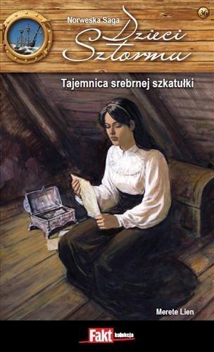 Okładka książki Tajemnica srebrnej szkatułki