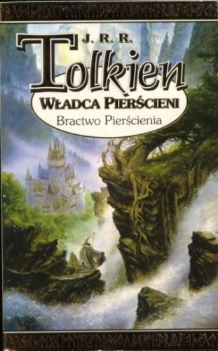 Okładka książki Władca Pierścieni - Bractwo Pierścienia