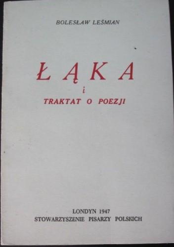 Okładka książki Łąka i Traktat o poezji