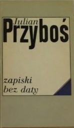 Okładka książki Zapiski bez daty