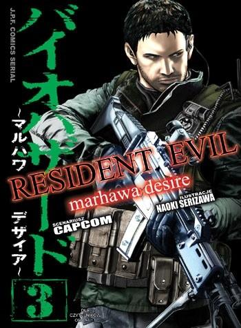 Okładka książki Resident Evil #3