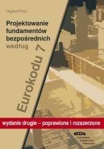 Okładka książki Projektowanie fundamentów bezpośrednich według eurokodu 7