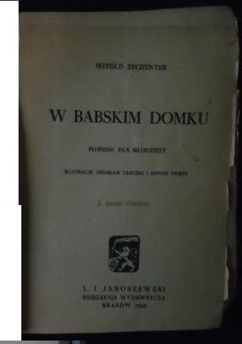 Okładka książki W Babskim Domku: Powieść dla młodzieży