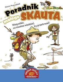 Okładka książki Poradnik małego skauta