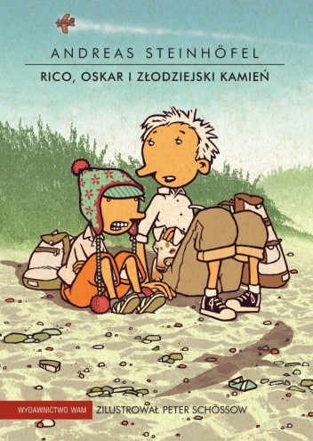 Okładka książki Rico, Oskar i złodziejski kamień