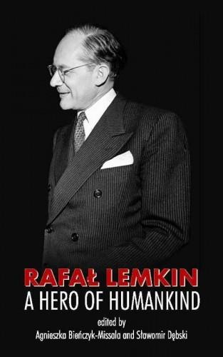 Okładka książki Rafał Lemkin: a Hero of Humankind