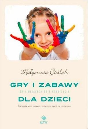 Okładka książki Gry i zabawy dla dzieci