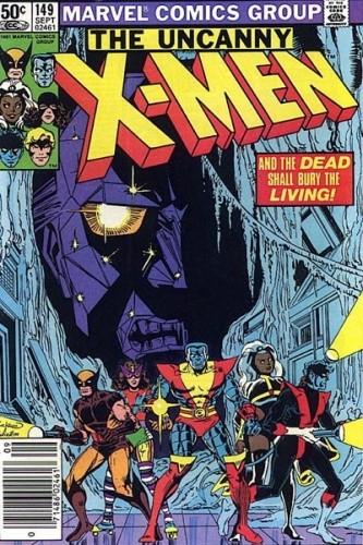 Okładka książki Uncanny X-Men Vol 1 #149