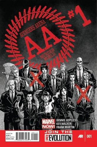 Okładka książki Avengers Arena Vol 1 #1