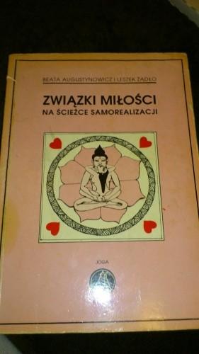 Okładka książki Związki miłości na ścieżce samorealizacji