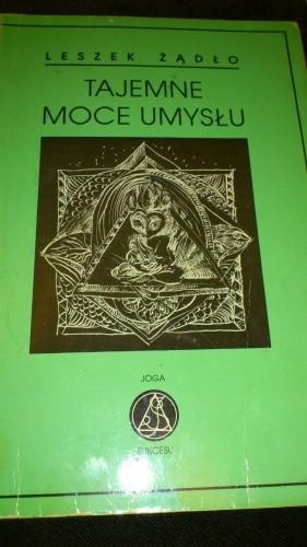 Okładka książki Tajemne moce umysłu