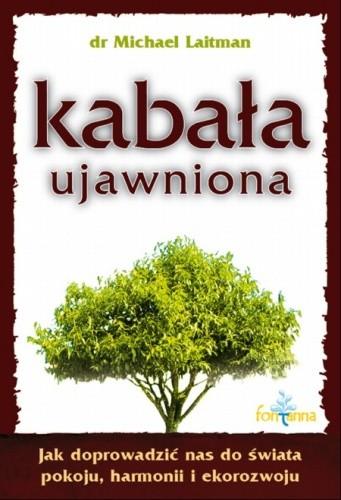 Okładka książki Kabała ujawniona