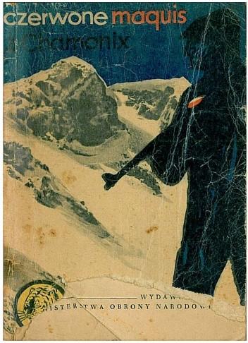 Okładka książki Czerwone maquis z Chamonix