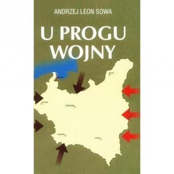 Okładka książki U progu wojny
