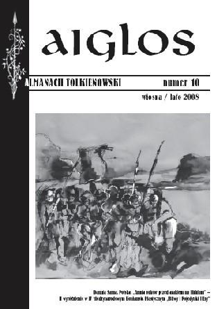 Okładka książki Aiglos, nr 10/wiosna/lato 2008