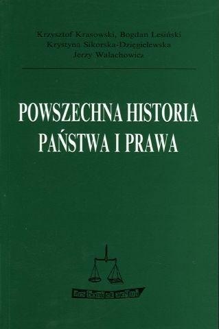 Okładka książki Powszechna historia państwa i prawa