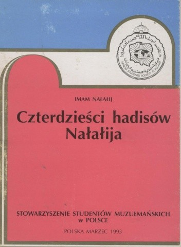 Okładka książki Czterdzieści hadisów Nałałija