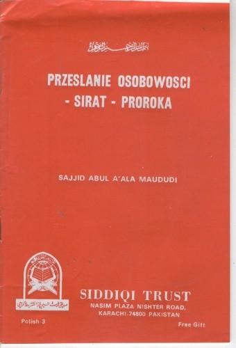 Okładka książki Przesłanie osobowości - sirat - Proroka