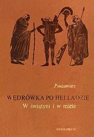 Okładka książki Wędrówka po Helladzie: W świątyni i w micie