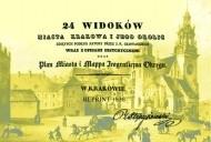Okładka książki 24 widoków miasta Krakowa