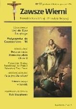 Okładka książki Zawsze wierni, czerwiec 1996