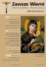 Okładka książki Zawsze wierni, listopad-grudzień 1997