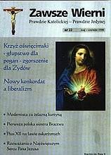 Okładka książki Zawsze wierni, maj-czerwiec 1998