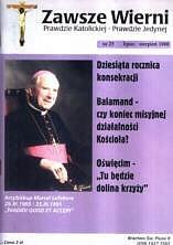 Okładka książki Zawsze wierni, lipiec-sierpień 1998