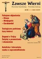 Okładka książki Zawsze wierni, styczeń-luty 1999