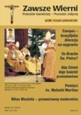 Okładka książki Zawsze wierni, wrzesień-październik 1999