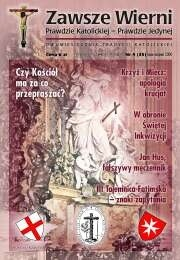 Okładka książki Zawsze wierni, lipiec-sierpień 2000