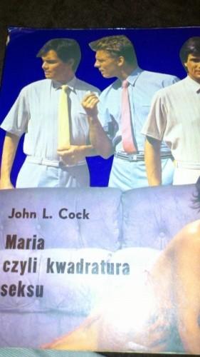 Okładka książki Maria czyli kwadratura seksu