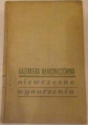 Okładka książki Niewczesne wynurzenia