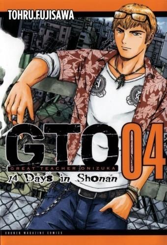 Okładka książki GTO: 14 Days in Shonan tom 4
