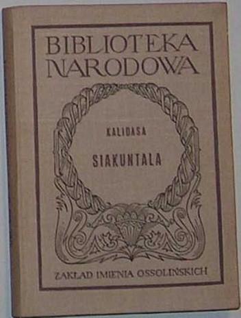 Okładka książki Siakuntala