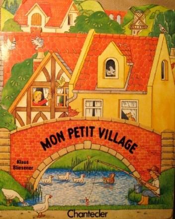 Okładka książki Mon petit village