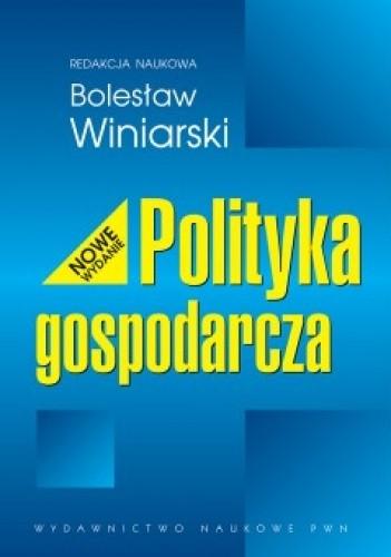 Okładka książki Polityka Gospodarcza