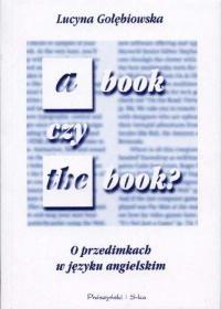 Okładka książki A book czy the book