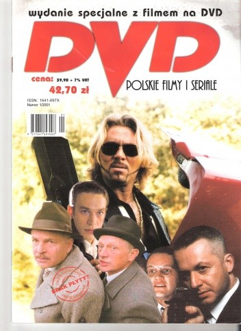 Okładka książki DVD. Polskie filmy i seriale