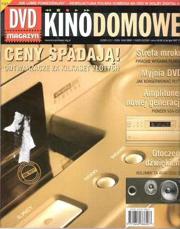 Okładka książki Kino domowe. DVD magazyn, czerwiec 2001