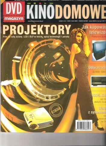 Okładka książki Kino domowe. DVD magazyn, maj 2001