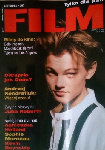 Okładka książki Film, listopad (11) 1997