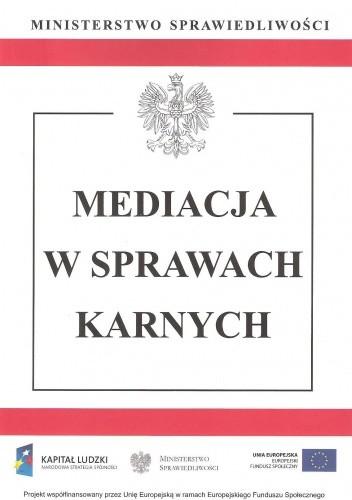 Okładka książki Mediacja w sprawach karnych