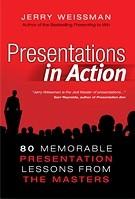 Okładka książki Presentations in Action