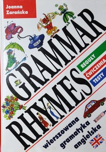 Okładka książki Grammar Rhymes. Wierszowana gramatyka angielska